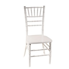 White Cushion Chair Staples Ergonomic Chiavari With  Peter Corvallis