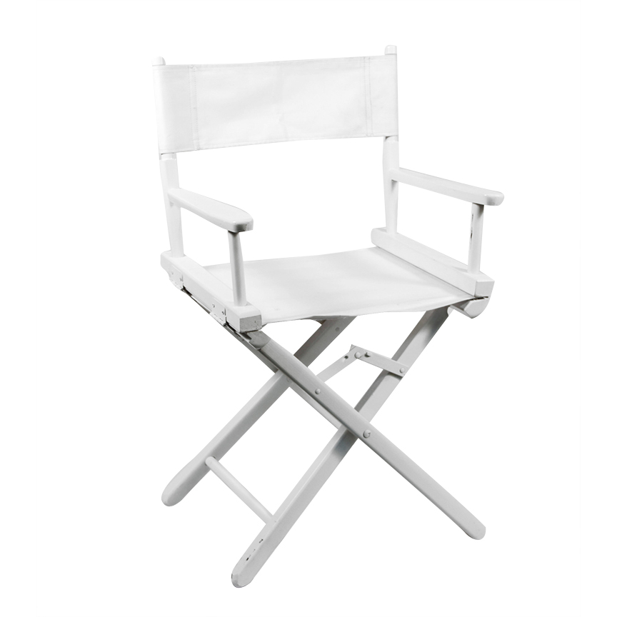 directors chair white high bag wood director 18 peter corvallis productions