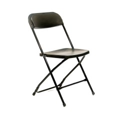 Folding Chair Nylon Lowes Adirondack Chairs Wood Black Plastic  Peter Corvallis Productions