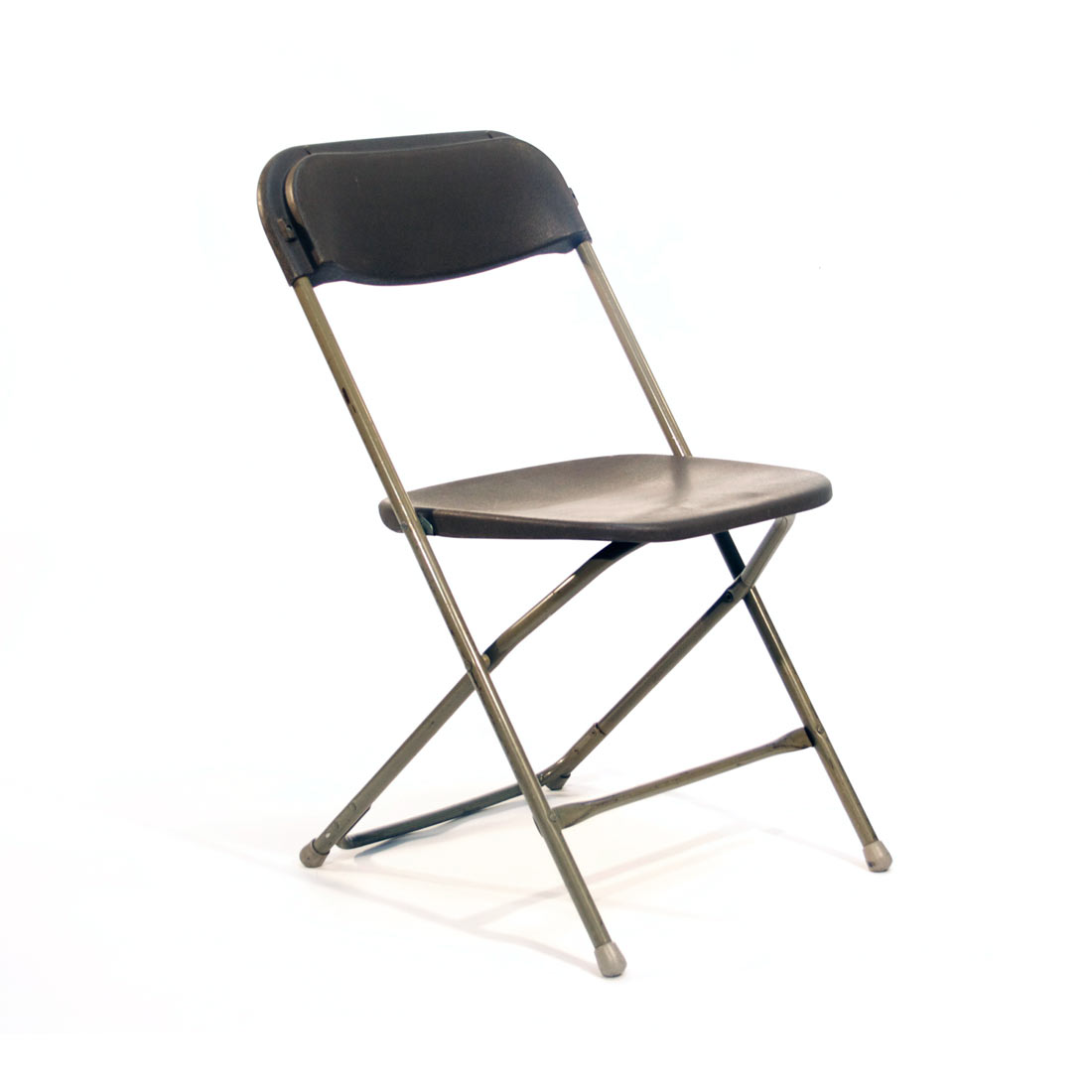 Brown Plastic Folding Chair  Festival Grade  Peter