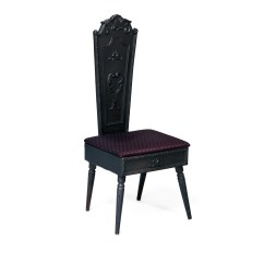 Black Accent Chair Target Club Chairs Scroll  Peter Corvallis Productions