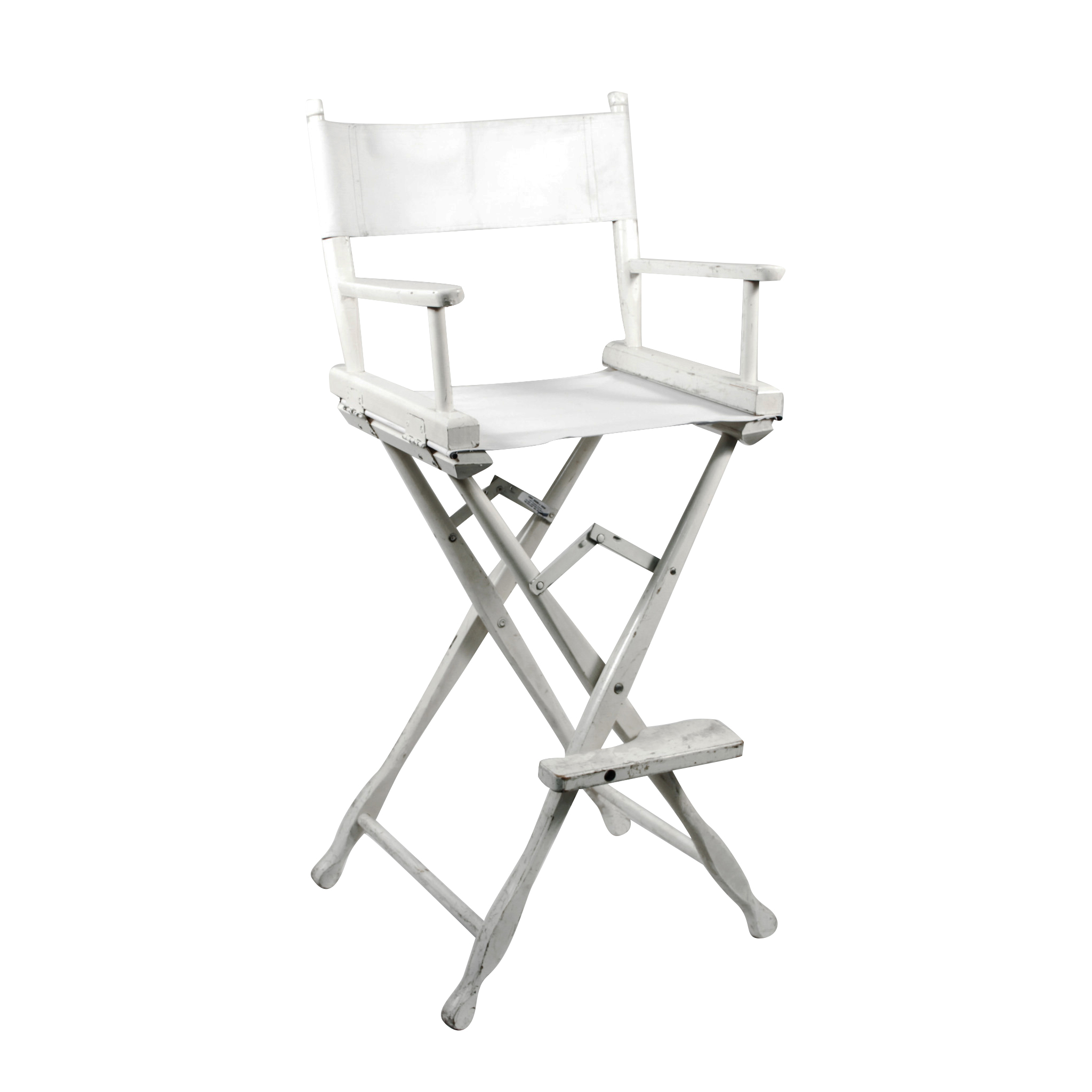 directors chair white swivel bucket chairs wood director 30 peter corvallis productions 24