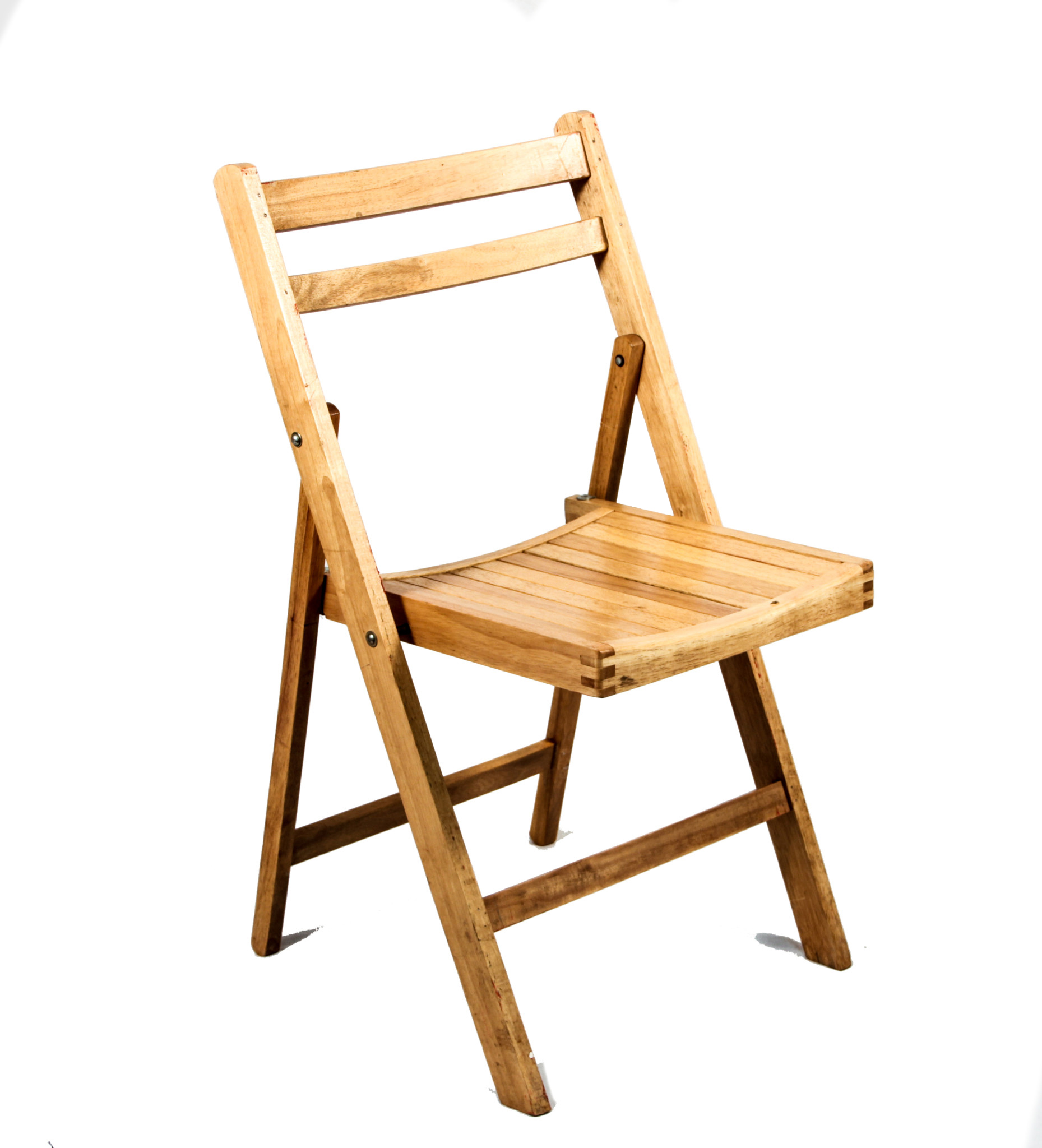 Pine Wood Folding Chair  Peter Corvallis Productions