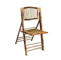 Bamboo Folding Chair  Peter Corvallis Productions