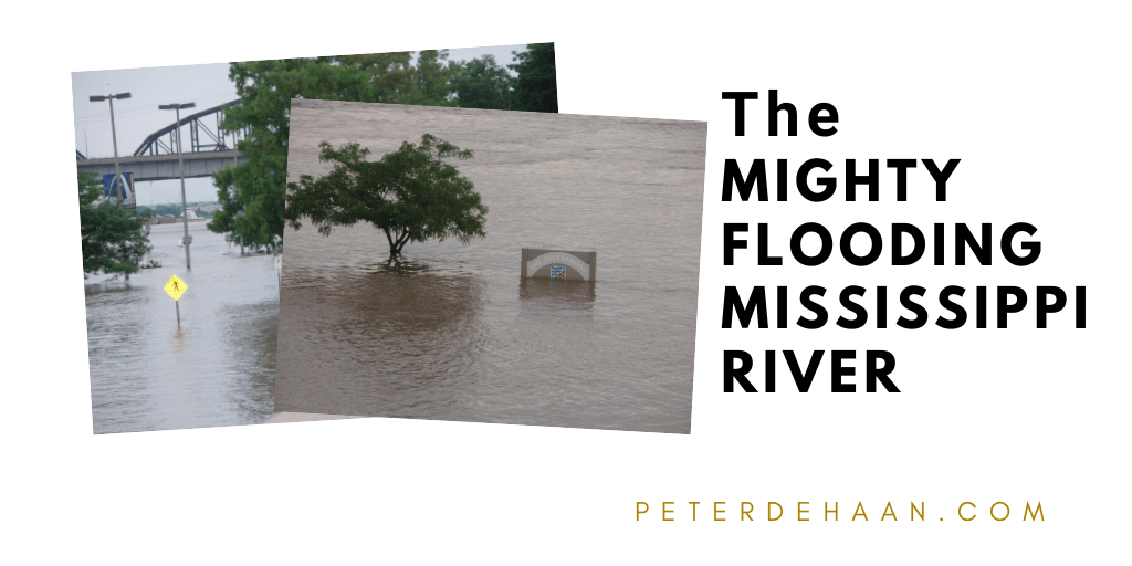 The Mighty Flooding Mississippi River