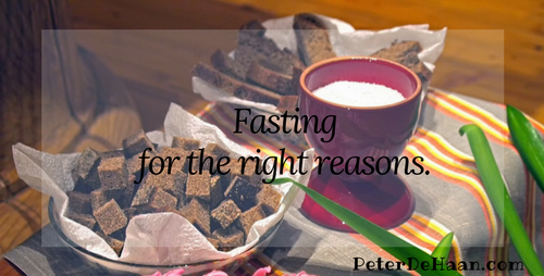 Fasting for the Right Reasons