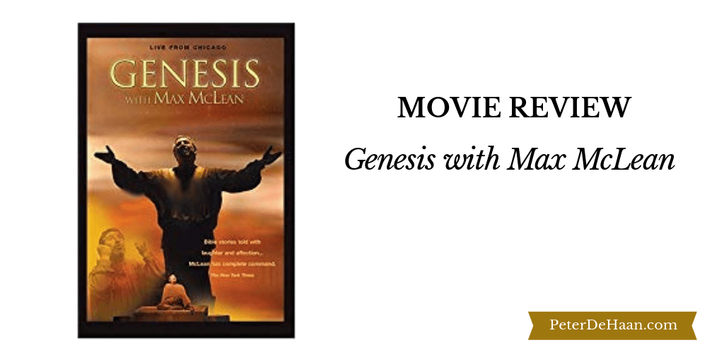 Video Review: Genesis with Max McLean