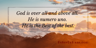 God is the Best of the Best