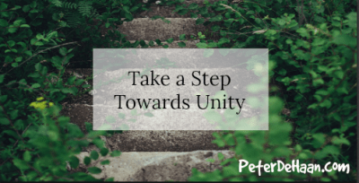 We must pursue Christian Unity