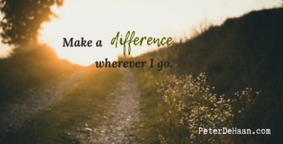 Make a Difference Wherever You Go
