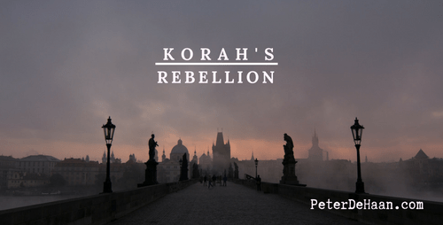 More on Korah's Rebellion