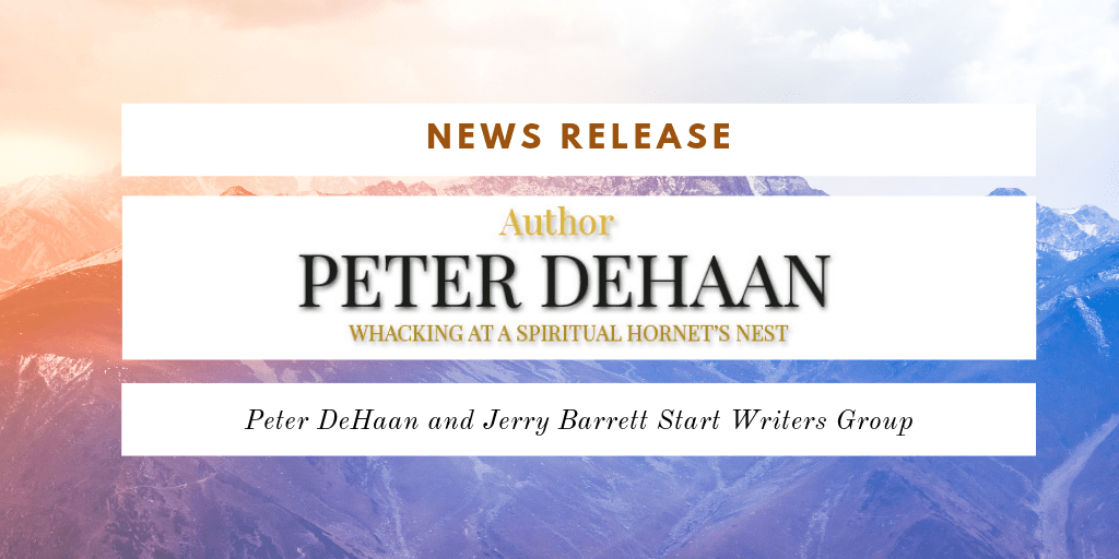 News Release: Peter DeHaan and Jerry Barrett Start Writers Group