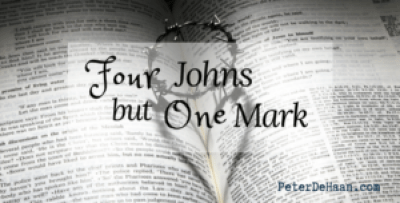 Four Johns but One Mark