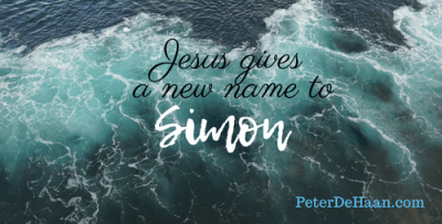Jesus Gives a New Name to Simon