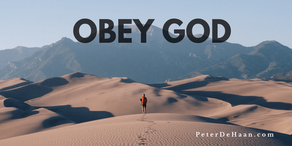 Why It's Important to Obey God
