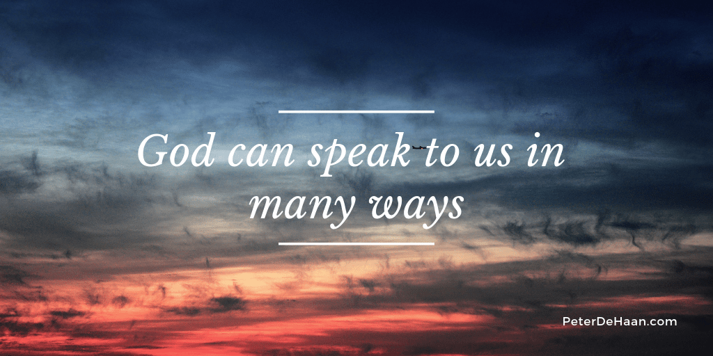 God Speaks Through Feelings and Thoughts