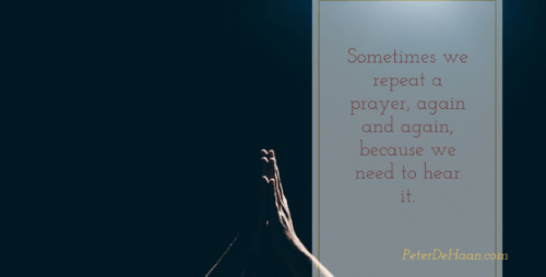 Should We Avoid Vain Repetition When We Pray?