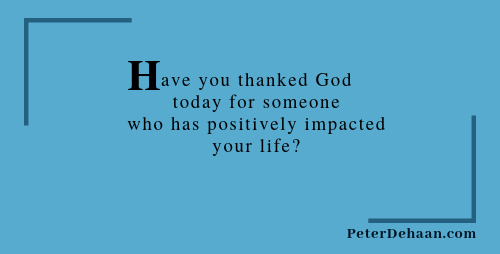 How Often Do You Give Thanks to God?