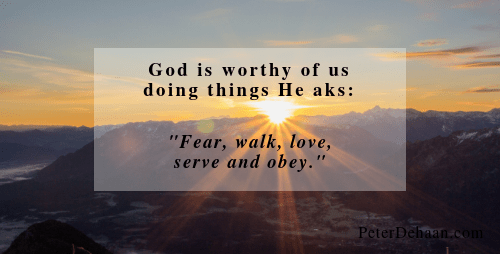 5 Things God Asks of Us