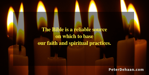 The Bible Provides a Greater Authority for Faith and Spirituality