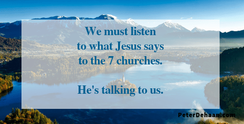We Need to Learn From the Seven Churches in Revelation