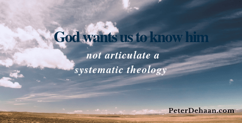 Why I Love God But Hate Theology