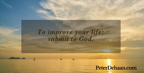 Submit to God; Resist the Devil