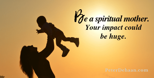 Can You Be a Spiritual Mother to Someone?