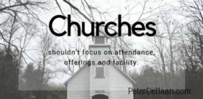 The Three Priorities of a Church