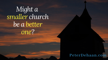 How Can You Shrink Your Church?