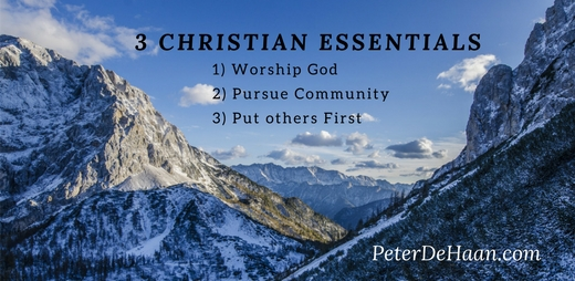 3 Essential Aspects of Christianity
