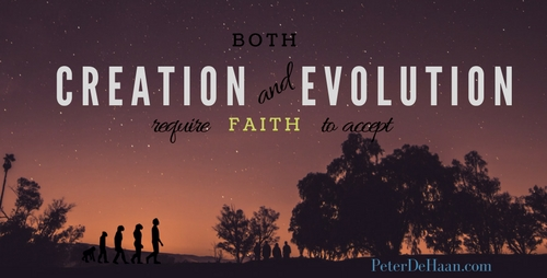 The Role Faith Plays in the Creation Versus Evolution Debate