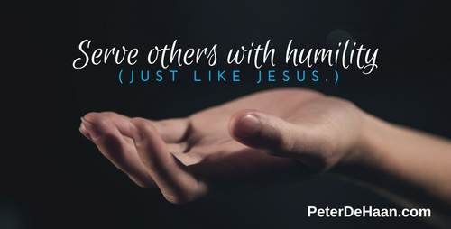 Jesus Calls Us To Serve With Humility