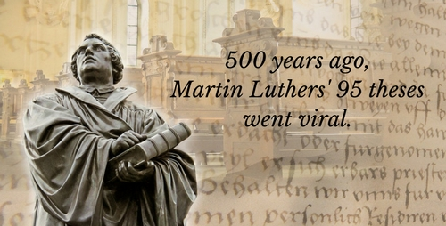 Tweeting Martin Luther