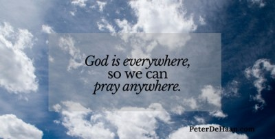 The Prayer Tower: Thoughts about Seeking God in High Places