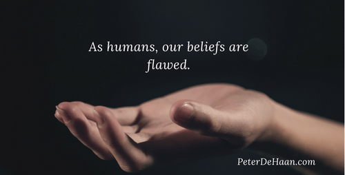 Our Beliefs Are Flawless. Or Is It That Our Beliefs Are Flawed?