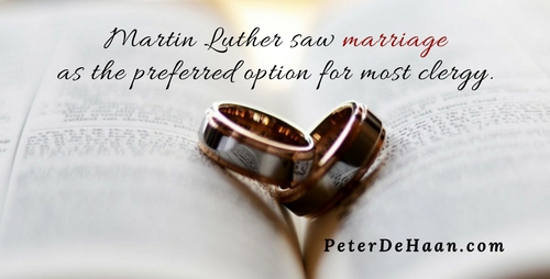 The Excommunicated Martin Luther Gets Married