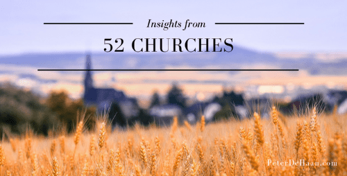 52 Churches: Wrap-up and Reboot
