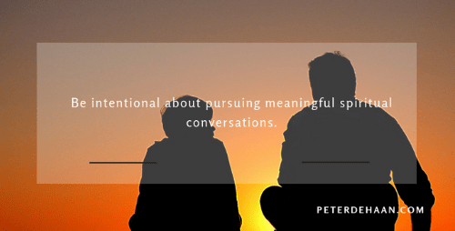 How Often Do You Have Meaningful Spiritual Conversations?