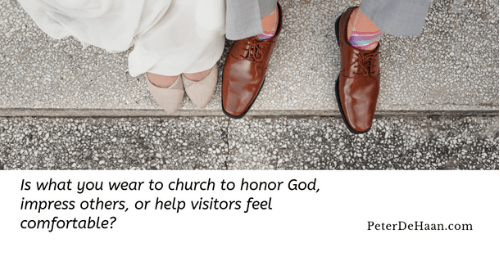 Why I Don't Dress Up for Church—Anymore