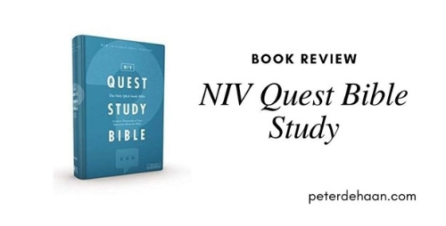 Book Review: NIV Quest Bible Study