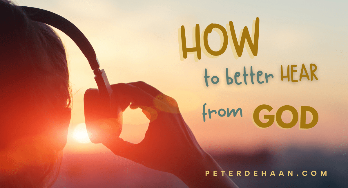 Reduce the Noise in Your Life to Better Hear God