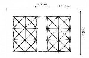 Structure Spider-Flex, un matériel adapté au jeune public.
