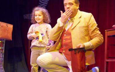 intégrer les enfants dans le spectacle