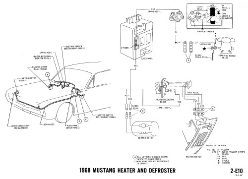 small resolution of 1968 mustang wiring diagrams evolving software 1965 mustang color wiring diagram 2005 mustang wiring diagram