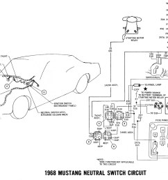 1968 master wiring diagram neutral switch [ 1500 x 1040 Pixel ]
