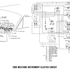 1966 Mustang Dash Light Wiring Diagram Electrical House Diagrams Ii Cluster