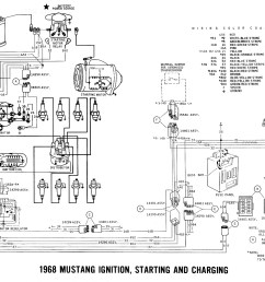 1968 mustang wiring diagram wiring diagram val free 1968 mustang colored wiring diagram [ 1400 x 1027 Pixel ]