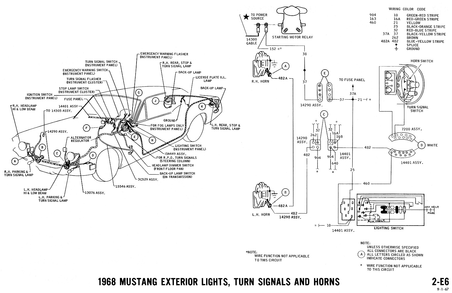 6 0 Ford Headlight Switch Diagram