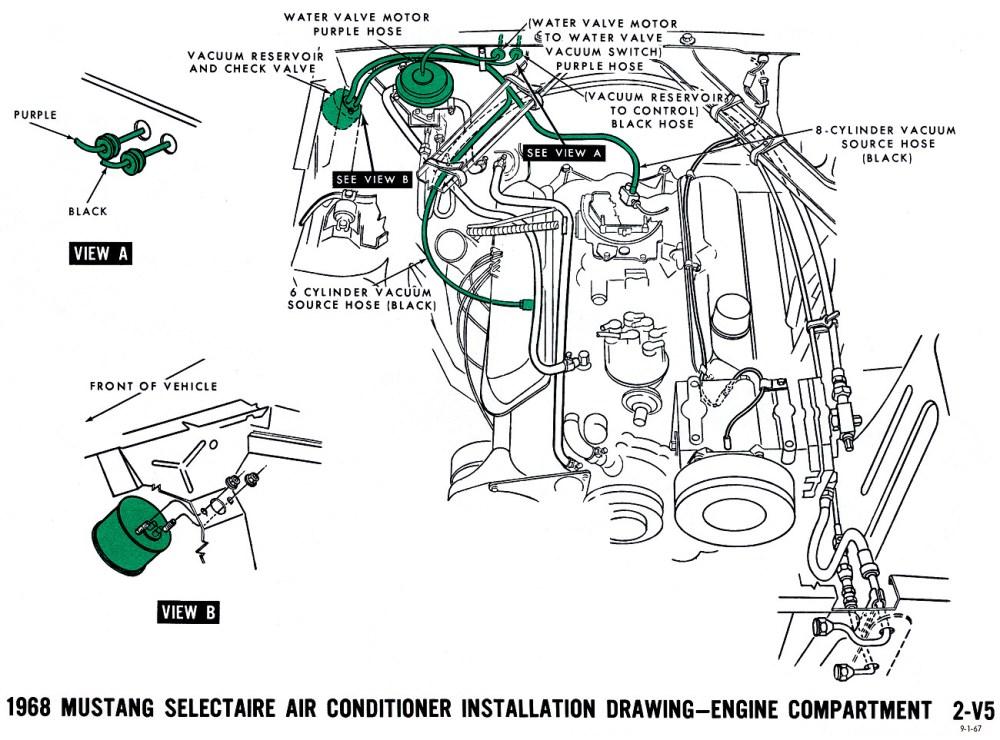 medium resolution of air conditioner engine compartment